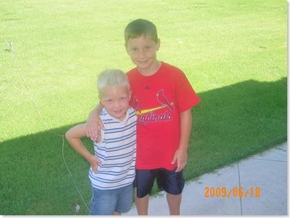 neighbor Colby and Logan