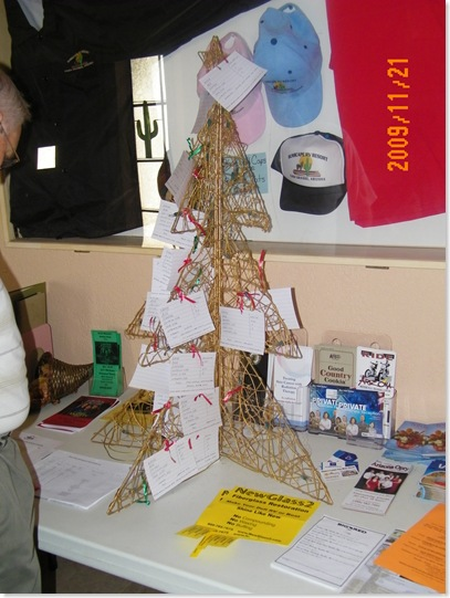 gift tree for Home of Hope children