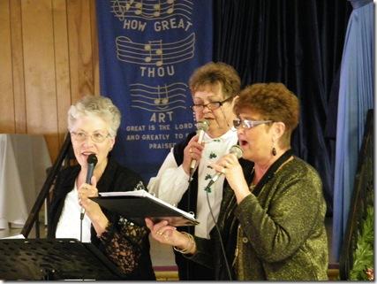 Nancy Beilke, Carol, Lyla Behrens