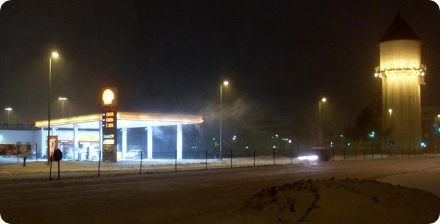 snefygning