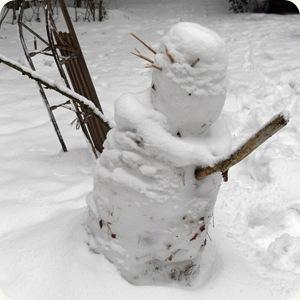 den sjove lille snemand