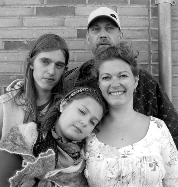 Den samlede familie
