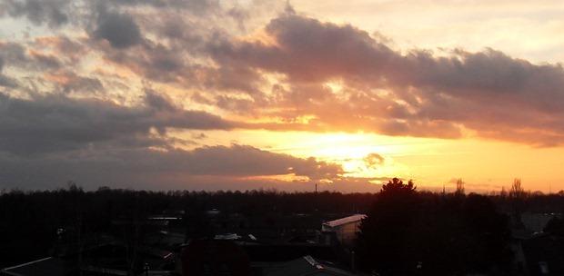 Himlen set hjemmefra