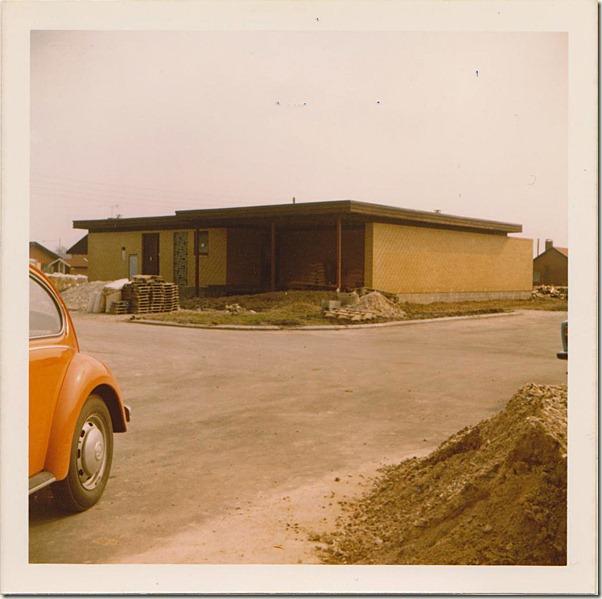 huset mine forældre byggede - 1972