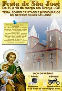 CARTAZ FESTA DE SÃO JOSÉ 2011 IMAGEN