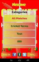 Screenshot of Hangman Intl' Cricket Players