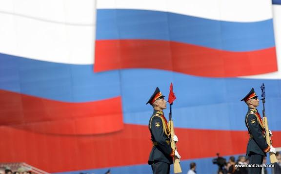 俄罗斯5月9日大阅兵 俄罗斯国旗