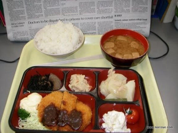 世界各国的校餐 日本,日本,校餐,食物