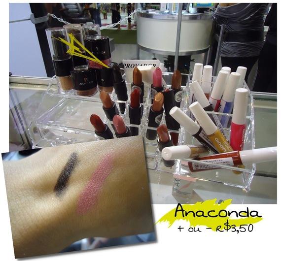 Batom Preto Anaconda