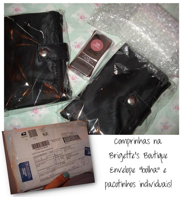 Comprinhas Brigette's Boutique - Embalagem