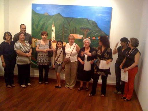 Exposición de la escuela municipal de Artes Plásticas