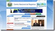 Centro Nacional de Registros de la República de El Salvador 612010 120317 PM