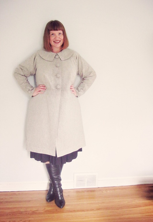 The Sound of Music coat (Sew Serendipity Classic Tailored Coat)