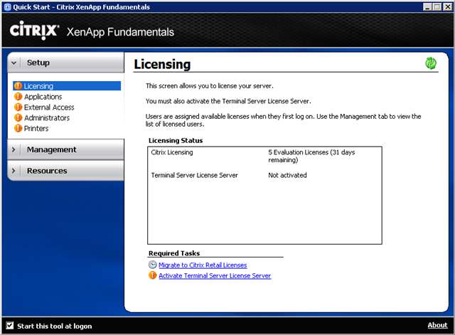 how to find license server in citrix farm