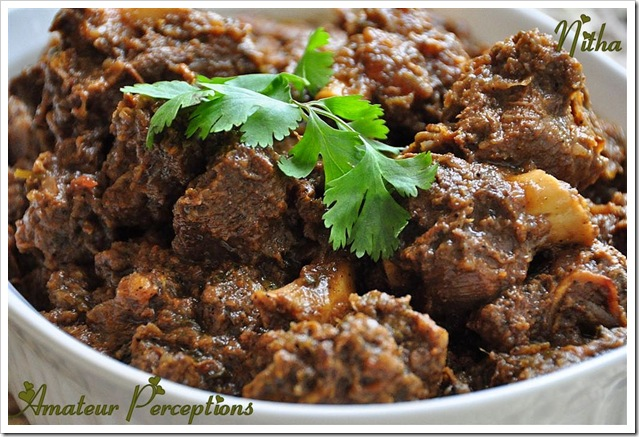 Mutton curry 9