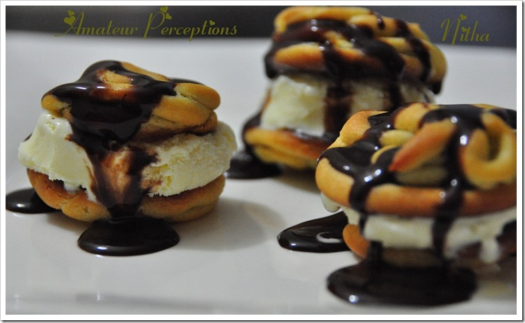 Chocolate Profiteroles 6