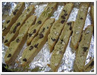 Almond Chocolate Biscotti 8