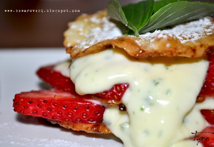 Strawberry spinach basil mille feuill02