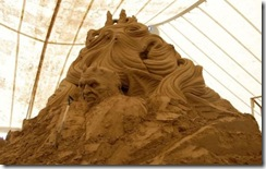 8.Seni Rupa Seni Ukir Pasir Yang Menakjubkan