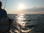 A beautiful sunset sail