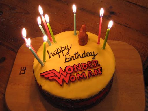 Happy Birthday Wonder Woman Cake Wonderwoman 20