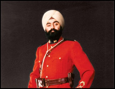 Baltej Singh Dhillon - Dress Uniform