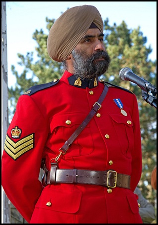 Baltej Singh Dhillon - Dress Uniform Recent