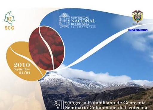 XIII Congreso Colombiano de Geotecnia y VII Seminario Colombiano de Geotecnia