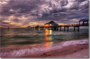 Pier 60 sunset