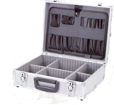 Maletin de aluminio con division reforzado maletines a - Maletin de aluminio para herramientas ...
