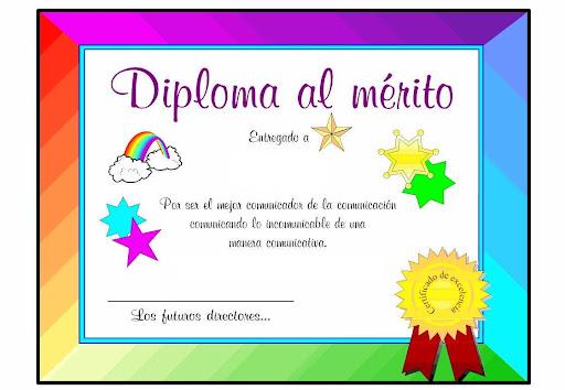 Como hacer diplomas para niños de preescolar - Imagui