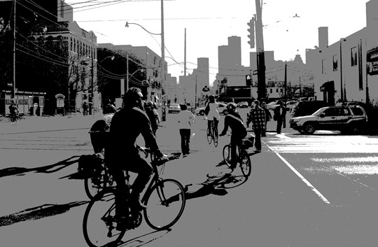 Toronto Morning Rush Hour - May 2009