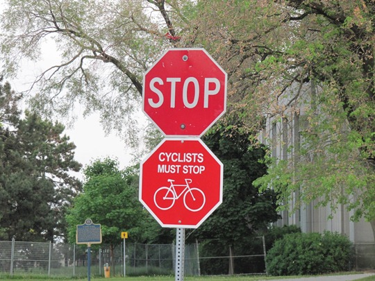 Toronto Stop Sign
