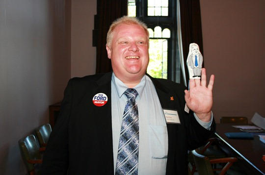 Mayor Rob Ford
