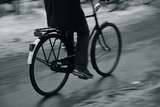 Amsterdam Bicyclist