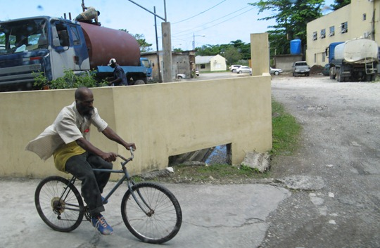 Bicycles in Jamaica