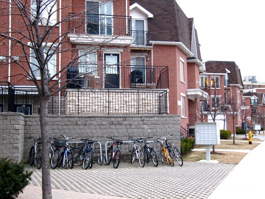 Toronto Condo Development Bicycles