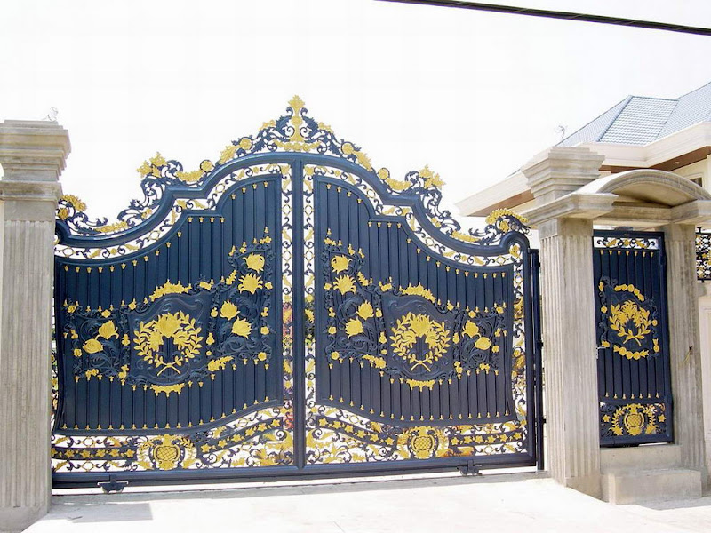 Iron Gates Design Gallery 10 Images Luxury House Design