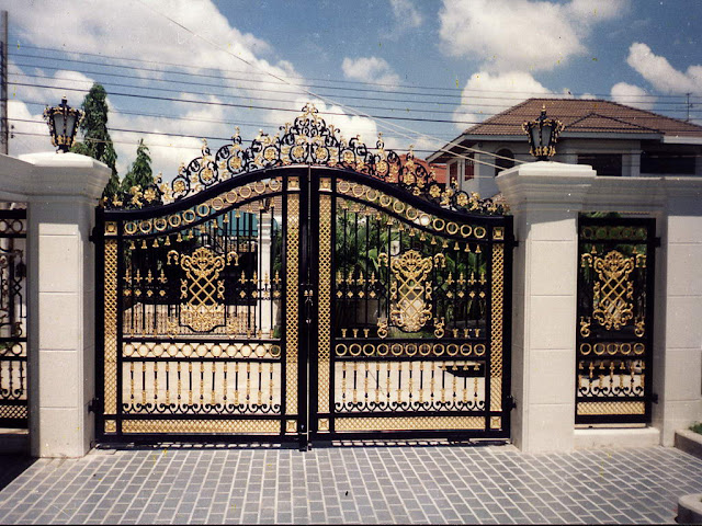 Iron gates design gallery - 10 Images - Kerala home design and floor ...