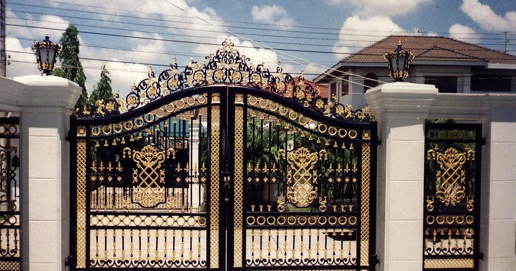 Iron gates design gallery 10 images home appliance for Beautiful kothi designs