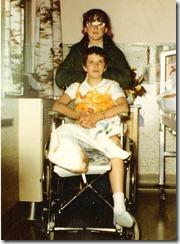 Wilda Ruttle and son Josh_color
