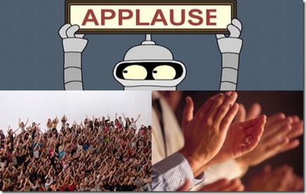 Montagem Aplausos
