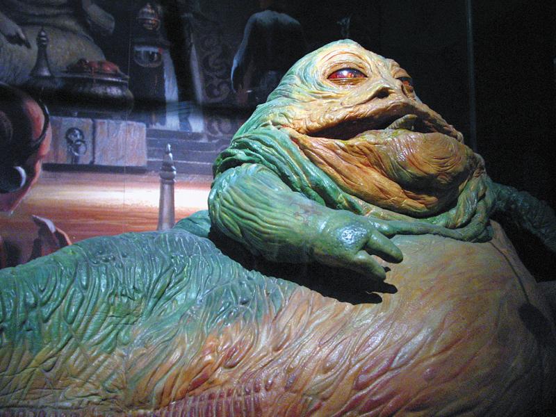 Jabba the Hut - a.ka. A Chefe do Gimbras