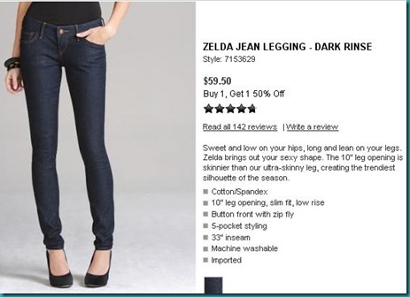 Zelda Jeggings