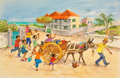 Where is Simon, Sandy? - children's book, Turks and Caicos