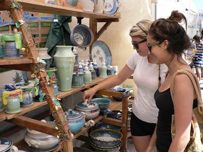 Millbrae Art & Wine Festival - pottery