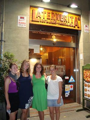 la Ternerita Restaurant, Barcelona, Spain