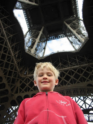 mother of all trips - eiffel tower