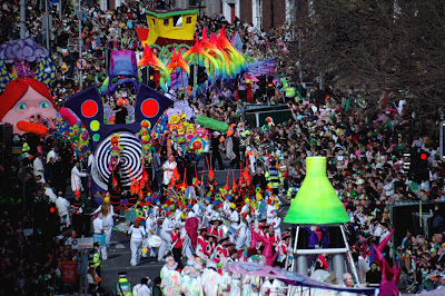 St Patrick's Day Parade, Dublin. Photo Johnathon McDonnell, www.tourismireland.com