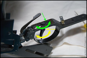 Rotating trigger shoe and complete trigger unit